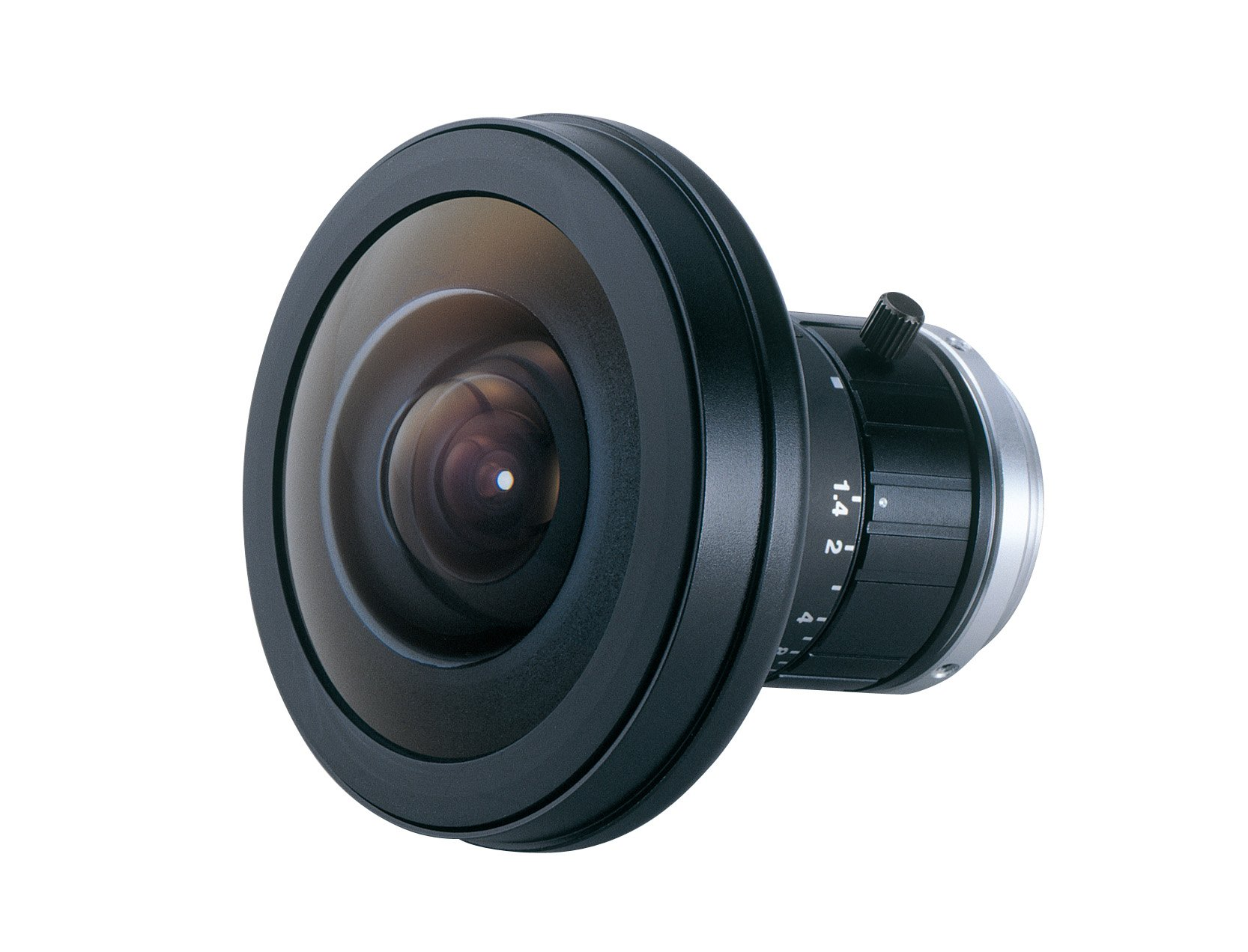 Fujinon FE185C086HA-1 1'' C-Mount 2.7mm F/1.8 Manual Iris Fisheye Lens for 5MP Cameras by Fujinon