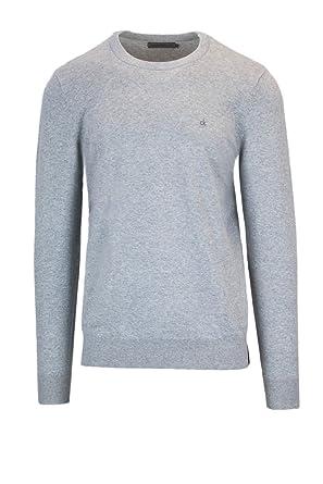 Calvin Klein Jeans Men s Sweater Stag Slim CN LS J30J306941 Pullover m Grey 69f33b961a