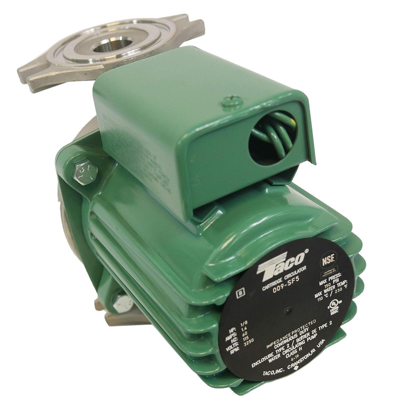 Taco, 009-SF5, Hot Water Circulator Pump, SS, 1/8 HP