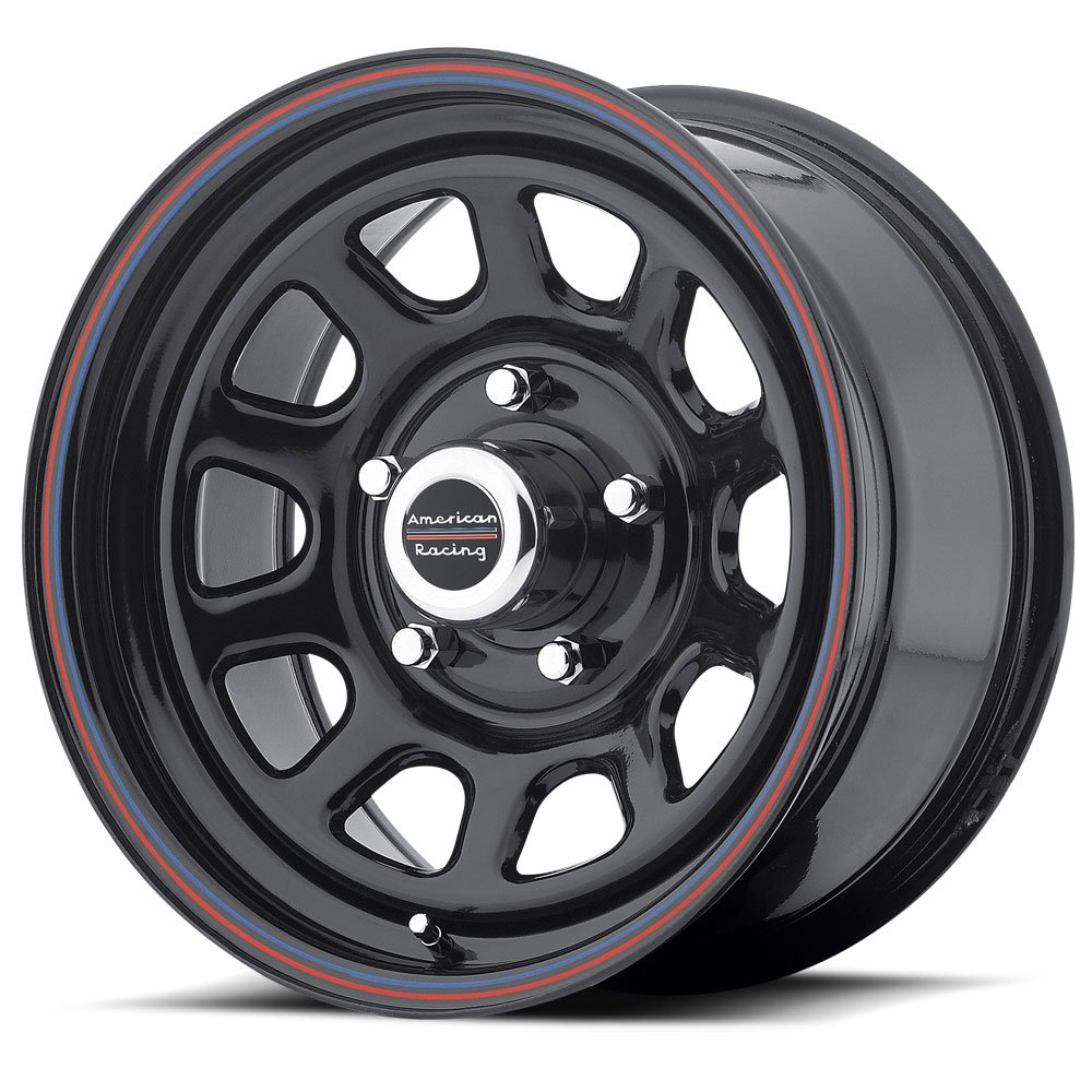 American Racing Series AR767 Gloss Black Wheel (15x8''/5x4.5'')