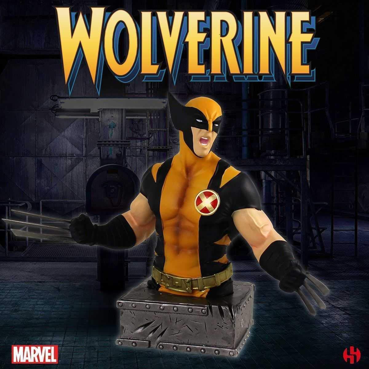 Semic Studios- Marvel Buste RESINE Wolverine Lobezno, Color ...