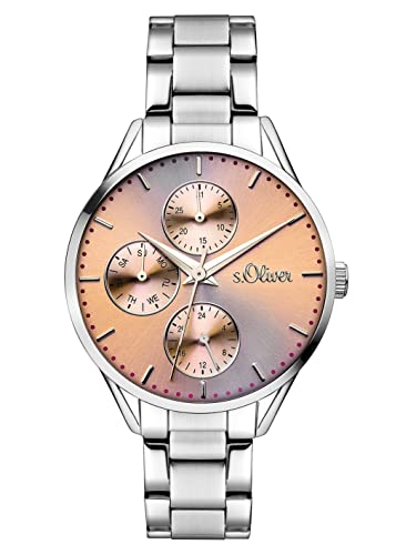 s.Oliver Damen-Armbanduhr SO-3217-MM