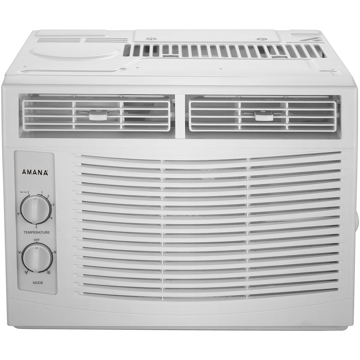 AMANA 5,000 BTU 115V Window-Mounted Air Conditioner with Mechanical Controls, White by AMANA