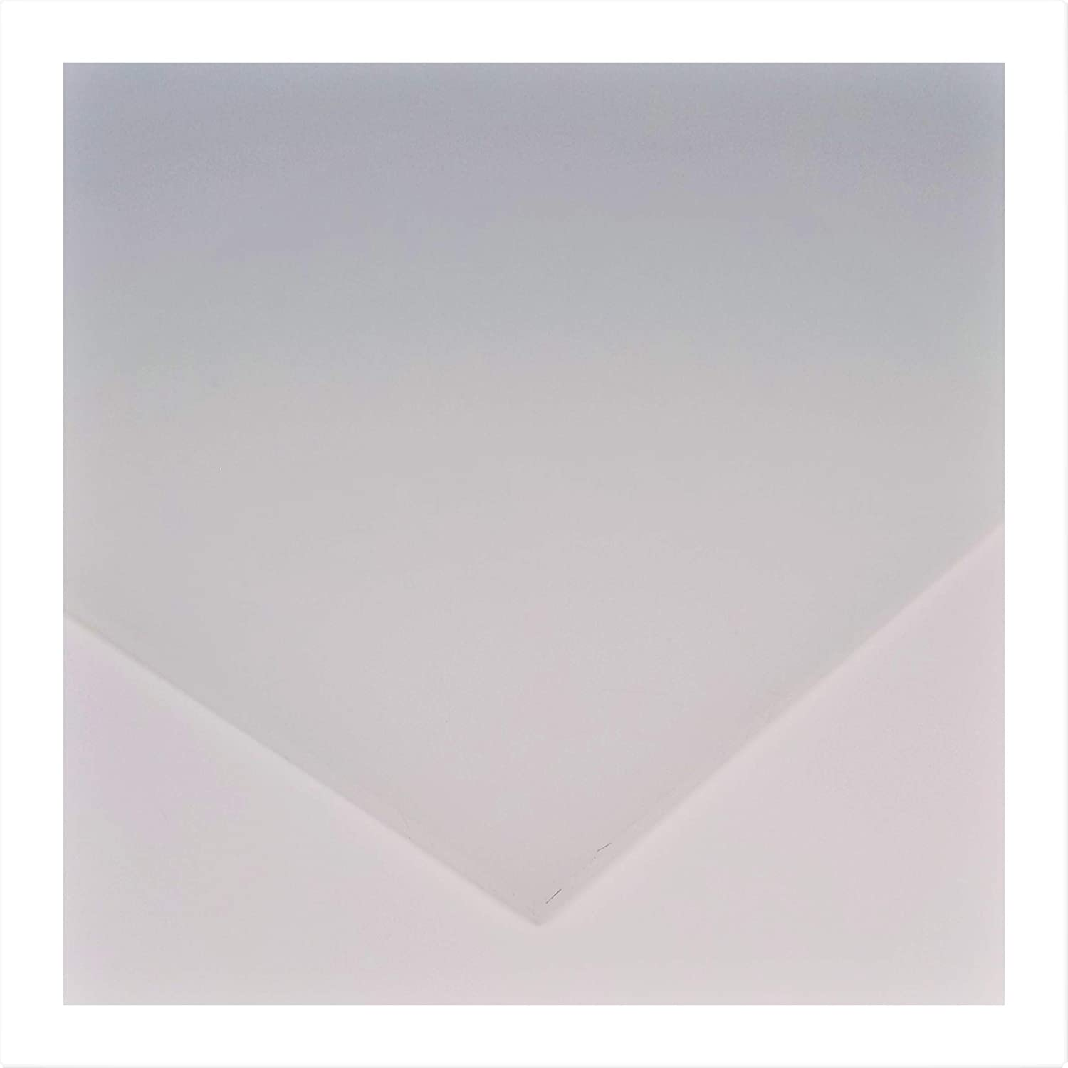 """Silicone Rubber Sheet, 50A Durometer, Translucent, 1/16 inch Thick, 9"""" x 12"""" (1.6mm x 230mm x 305mm)"""