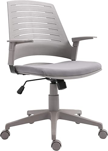 Vinsetto Middle Back Office Chair Computer Swivel Rolling Task Chair