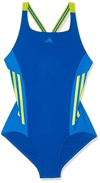 adidas Mädchen Fitness 1 Piece Lineage Badeanzug Bekleidung