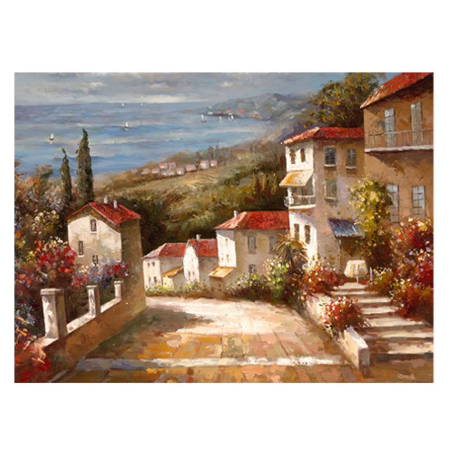 Home in Tuscany by Joval 18x24-Inch Canvas Wall Art