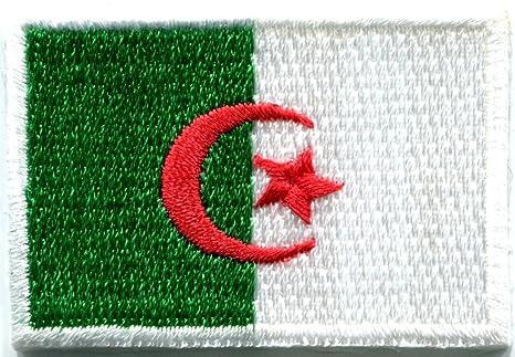 Bandera de Argelia Argel África de Argelia bordado Applique Iron-on Patch