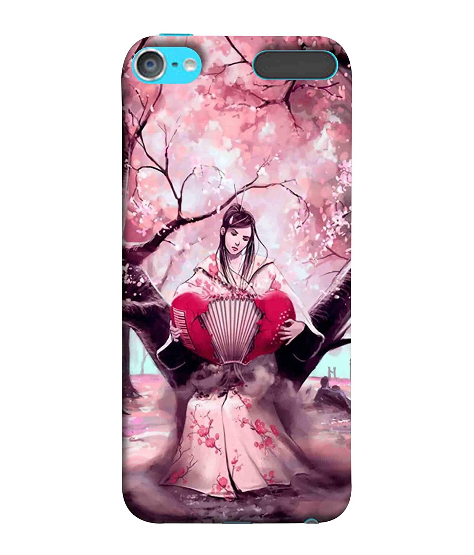 Printfidaa Chinese Cute Lady Lavendor Background Amazon In Electronics