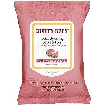 Toallitas húmedas Burts Bees. Toallitas húmedas para piel sensible, 30 unidades