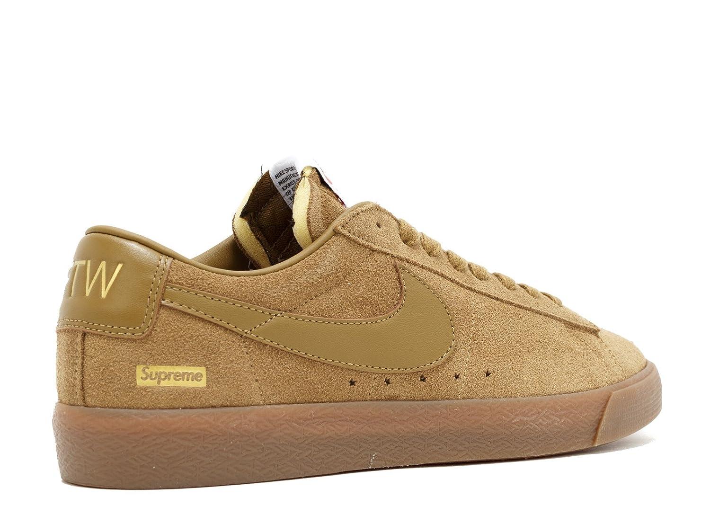 best loved f132d 7d163 Amazon.com | Nike SB Blazer Low GT QS (Supreme) | Shoes