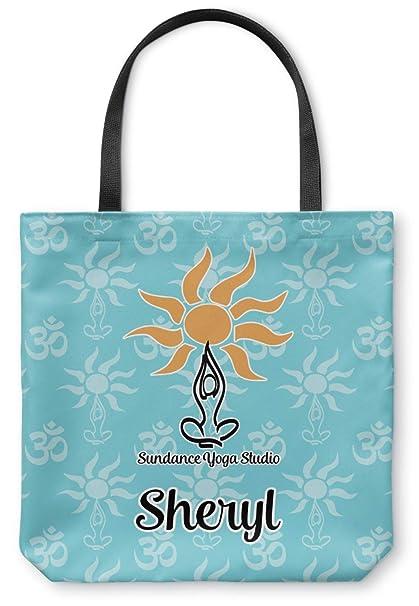 Sundance Yoga Studio Canvas Tote Bag (Personalized) at ...