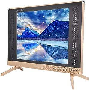 TV de 24 Pulgadas, TV LCD HD de 24 Pulgadas, TV Inteligente HD de 1366x768, Mini televisión portátil con Altavoz de Graves súper Genial, HDMI, USB, VGA, Puerto TV/AV(Enchufe UE): Amazon.es: Electrónica