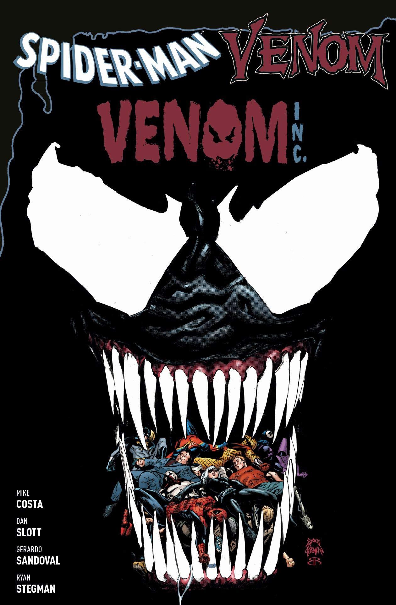 Spider-Man & Venom: Venom Inc. Taschenbuch – 11. September 2018 Dan Slott Ryan Stegman MIke Costa Gerardo Sandoval