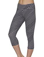 Marika Womens Professional Sports Skinny Leggings / Yoga Capri Pants