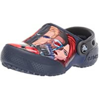 Crocs Kids' Fun Lab Marvel Multi Clog | Slip on Water Shoes for Boys, Girls