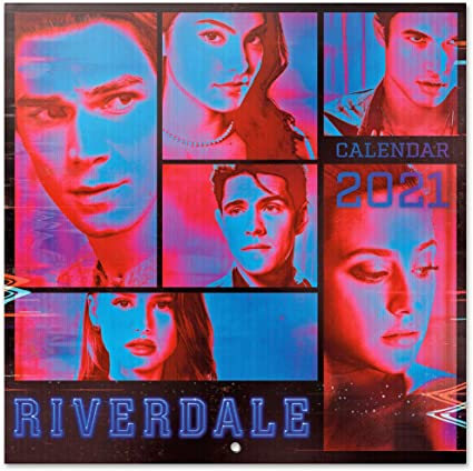 Grupo Erik Official Riverdale 2021 Wall Calendar 11.8 x 11.8
