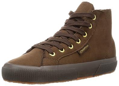 Chaussures 2795-SYNTSHEARLINGW Superga en noir pour femme