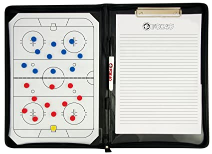 Ice Hockey Coaches' & Referees' Gear Fox 40 Magnetic Coaching Folder