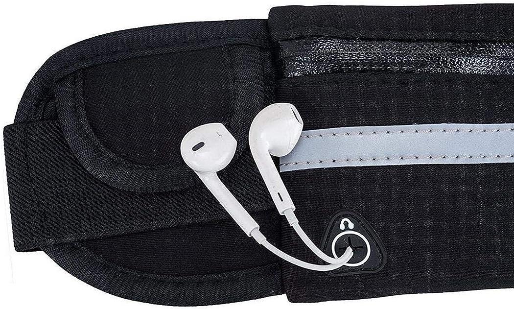 INKEME Sac de taille de t/él/éphone anti-vol /étanche en plein air avec trou pour /écouteurs Pochettes