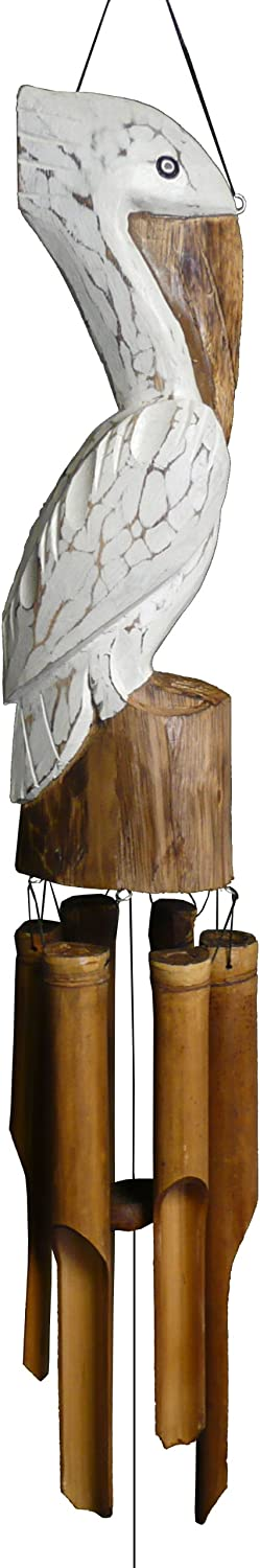 Cohasset 115P Pelican Wind Chime (13 15-Inch), Approximately 14""