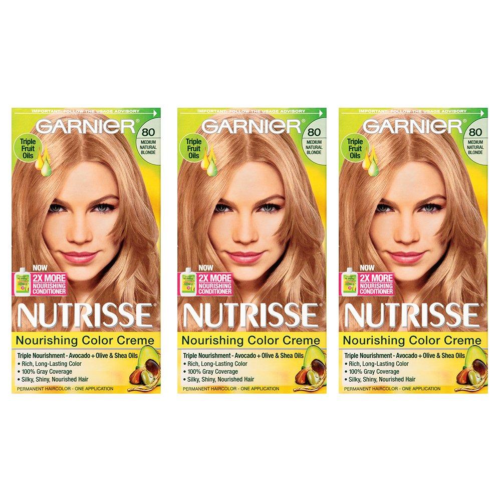 Amazon Garnier Nutrisse Nourishing Hair Color Creme 80 Medium