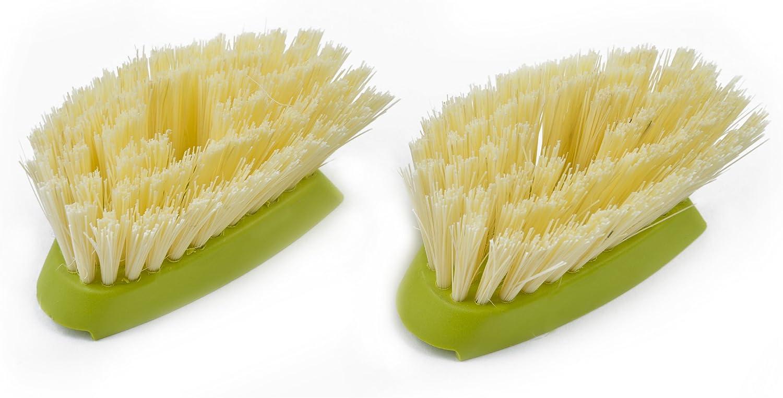 Full Circle Dish Brush Refill, Suds Up Soap Dispensing, 2-Pack, Green