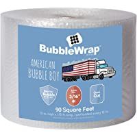 """Bubble Wrap 90', Small 3/16 Cushioning, 90 ft with Perforated Every 12"""""""