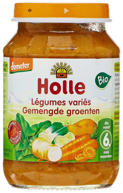 Holle Petit Pot Légumes 190 g - Lot de 3 7640104955337