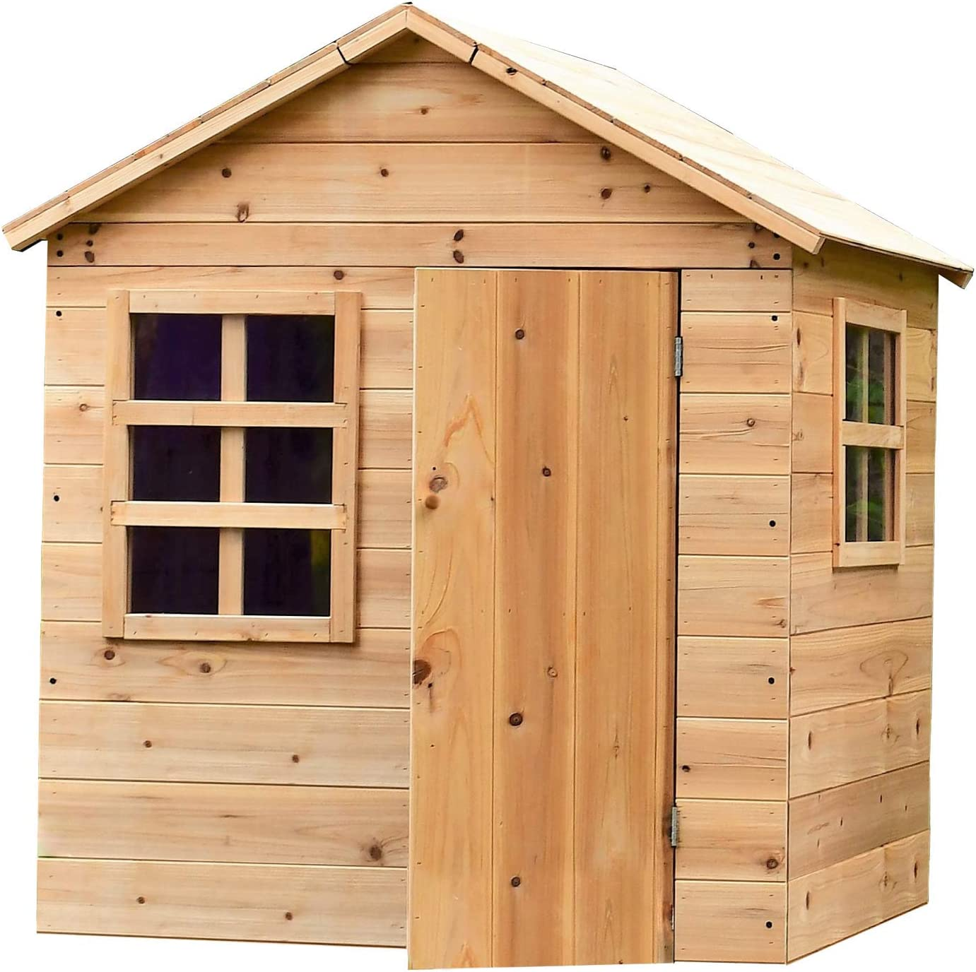 """Outdoor Kids Evermeadow House Playhouse 