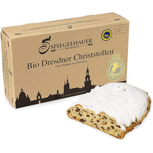 Organico Dresden Stollen de Navidad - verdadero Dresden Stollen ...