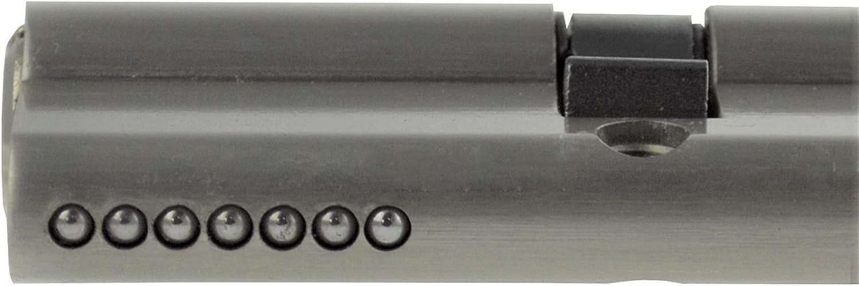 6x Profilzylinder 80mm 40//40 30x Schl/üssel T/ür Zylinder Schloss gleichschlie/ßend