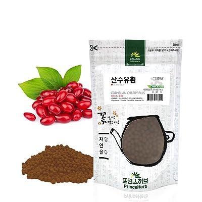 [Medicinal Korean Herbal Pills] 100% Natural Cornelian Cherry Pills (Cornelian Cherry) / 산수유 환 4oz (113g) : Garden & Outdoor