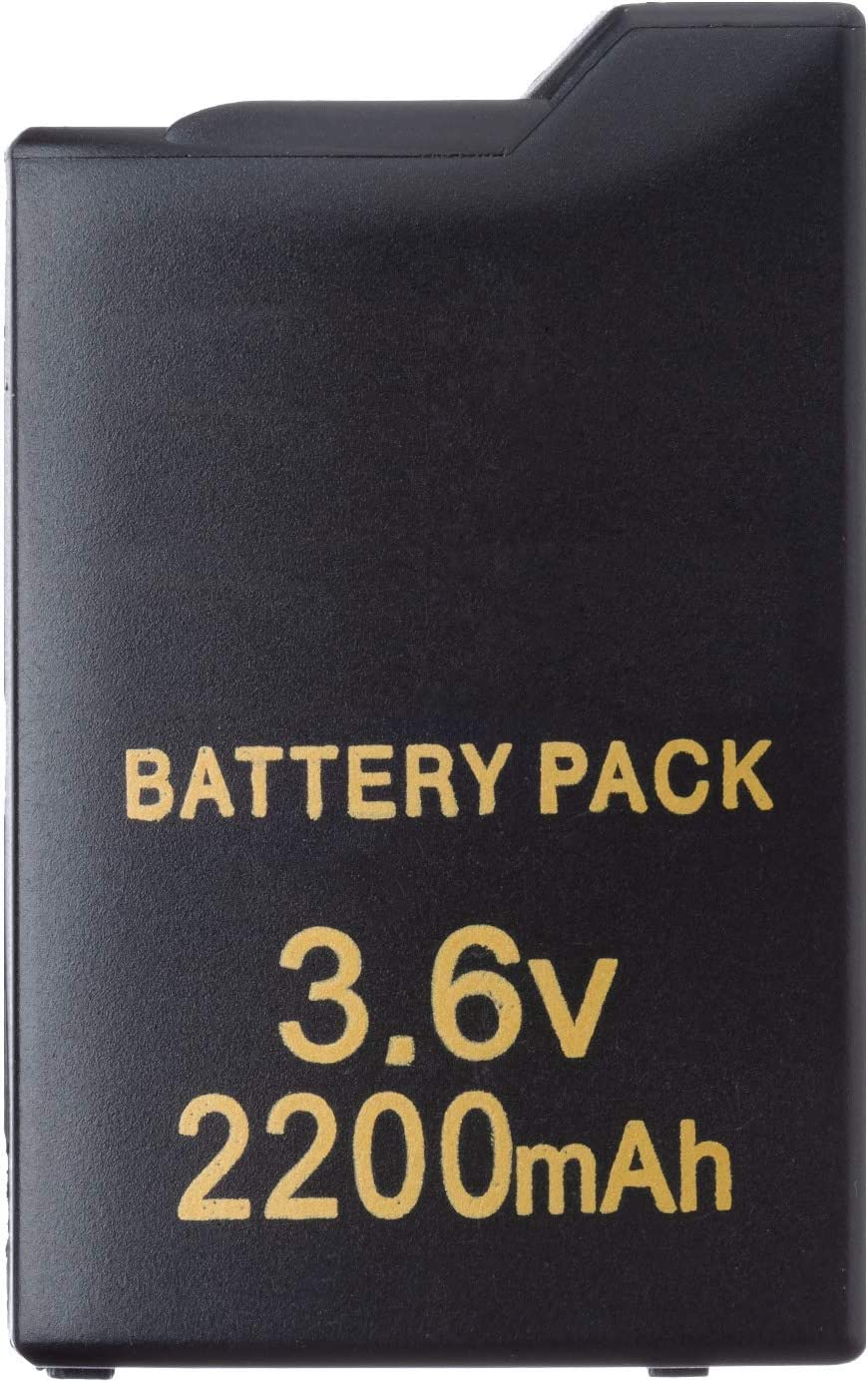 OSTENT 2200mAh 3.6V Rechargeable Battery Pack Replacement Compatible for Sony PSP 1000 Console [Importación Inglesa]