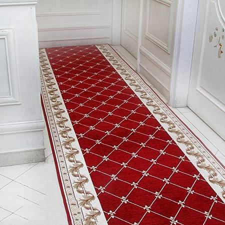 alfombra Mezclado Corredor Pasillo Escalera Step Mat Casa Entrada Cocina Felpudo (Color : 1, Tamaño : 90cm Wide (100m Long)): Amazon.es: Hogar