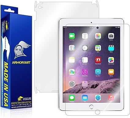 Full Body Skin ArmorSuit MilitaryShield Apple iPad Air 2 Screen Protector