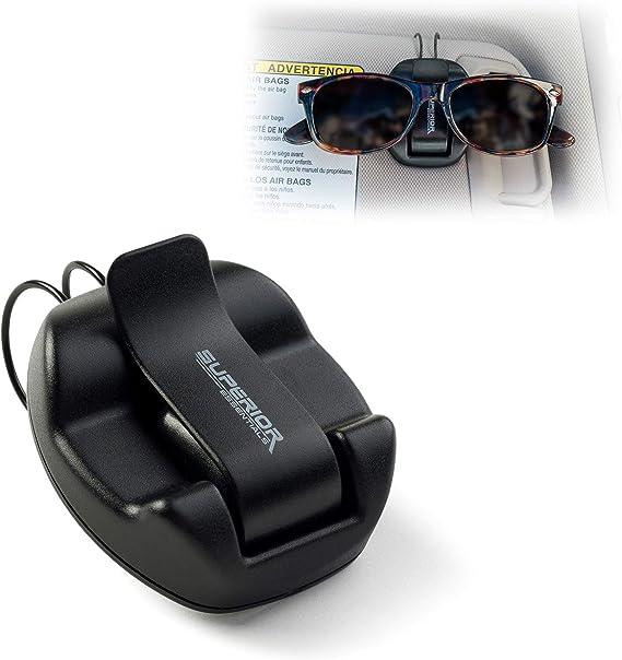 Superior Essentials Sunglasses Holder For Sun Visor/Air Vent
