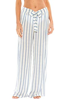 d11eb3a1da184 Becca by Rebecca Virtue Women s Serengeti Tie-Front Cover Pants Swim Cover  Up
