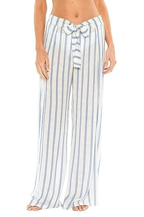 11d8d5c1251e3 Becca by Rebecca Virtue Women s Tie-Front Cover Pants Swim Cover Up Mist S