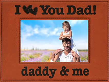 Daddy Me Holds 4 X 6 Photo Great Fathers Day Gift Dad Birthday Christmas