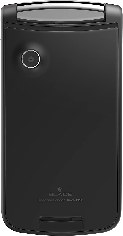 Binatone Blade Flip Phone - Teléfono móvil Dual Sim (Bluetooth, Cámara, USB, Radio FM, sin dispositivo de seguridad, teléfono móvil en diseño retro) color ...