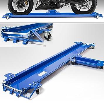 bituxx® Motocicleta rangier ayuda Fur caballete lateral de maniobra Carril Moto Carrito para joven para lado soporte Soporta hasta 270 kg: Amazon.es: Coche ...