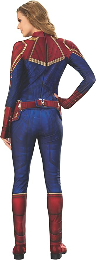 Amazon Com Rubie S Captain Marvel Hero Suit Adult Women S Sized Costumes As Shown Costume Outfit Clothing 2020 popular 1 trends in novelty & special use, mother & kids, men's clothing, sports & entertainment with captain marvel costume and 1. rubie s captain marvel hero suit adult women s sized costumes as shown costume outfit