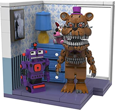FIVE NIGHTS AT FREDDYS McFarlane Toys Right Dresser & Door Fredbear Construction: Amazon.es: Juguetes y juegos
