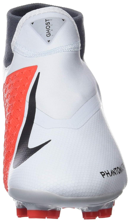 Nike Phantom Vsn Academy DF FG/MG, Zapatillas de Fútbol Unisex Adulto, Dorado (Pure Platinum/Black/Lt Crimson 060), 38 EU: Amazon.es: Zapatos y complementos