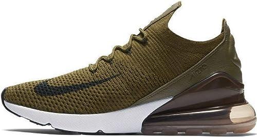 Nike Schuhe – Air Max 270 Flyknit grünschwarzbeige Größe