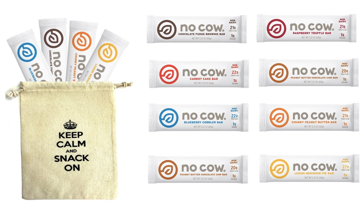 No Cow Variety Pack - 7 Flavors (12 Pack)
