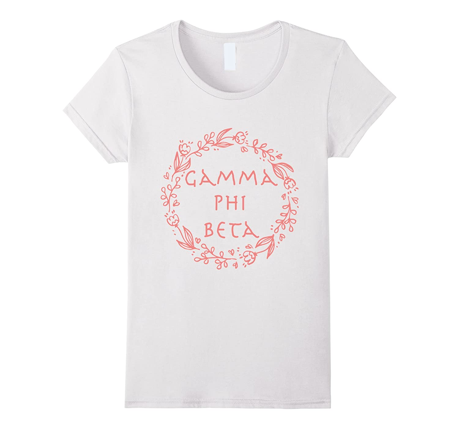T-shirt with print Gamma phi beta-FL
