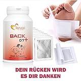 Back D7+ Rücken, Schulter und Nacken, 30 Tage Kur, 60 Kapseln + 10x Pads + Anleitung