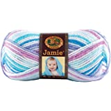 Lion Brand Yarn 881-203 Jamie Yarn, Twinkle Stripes